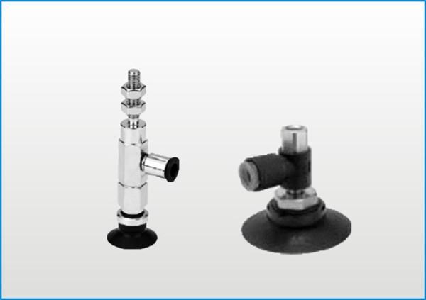 PZPR系列水平真空口接管吸盘(不带缓冲)