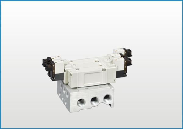 VY系列五通电磁阀(配管型底部)